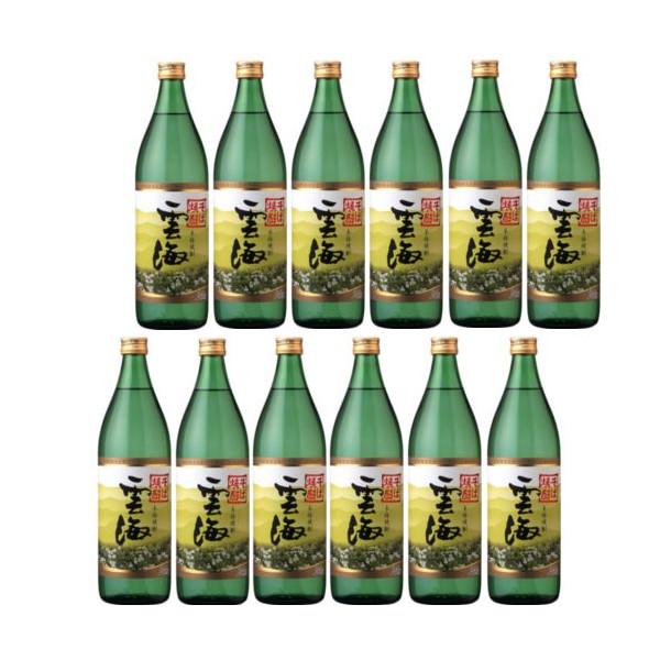 そば焼酎 雲海25度900ml瓶1ケース(12本)