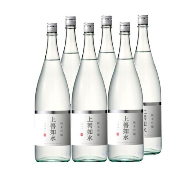 純米吟醸上善如水1800ml瓶×6本[箱付]