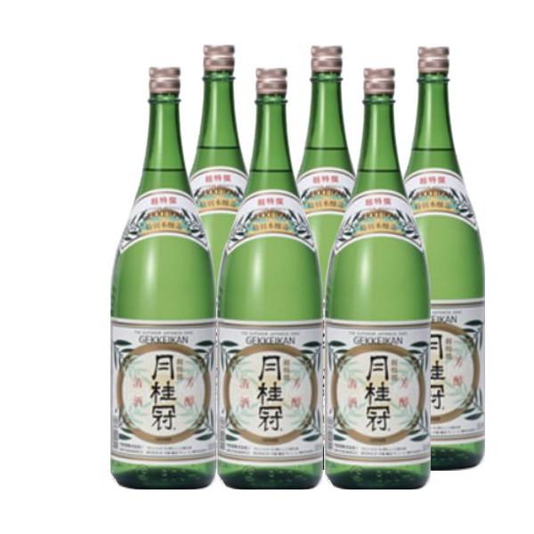 月桂冠 超特選1800ml瓶×6本[箱付]