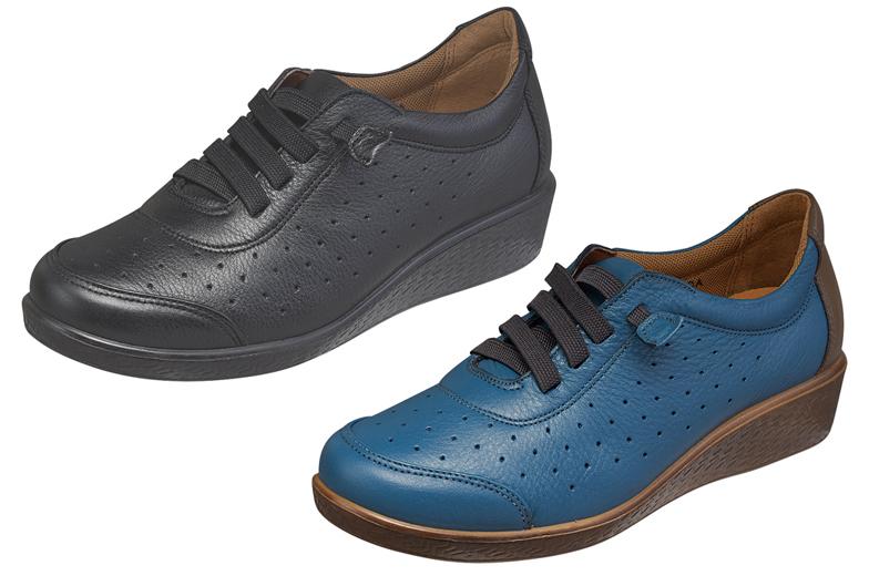 婦人靴 スポルスSP2402 bk 42323646 BL 5 (送料無料) 婦人 本革 ムーンスター国産コンフォートシューズ