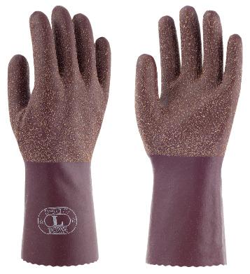天然ゴムで裾部が約4cm長いMADE IN JAPAN トワロンロング152 東和コーポレーション 注文後の変更キャンセル返品 お気に入 10双組 作業用ゴム手袋