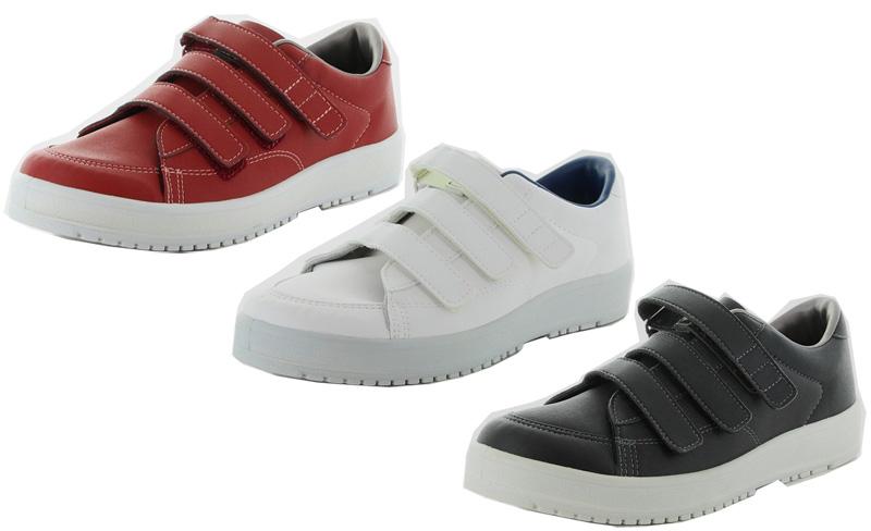 ムーンスター Vステップ07 1141005 リハビリ 介護靴 22-30cm 男女兼用 日本製(両足販売)