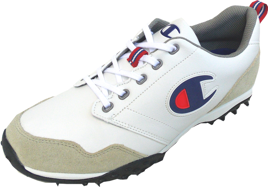 チャンピオン GOLF CP GL006 グラスコートホワイト 55170061 3E設計防水設計(送料無料)ゴルフシューズ