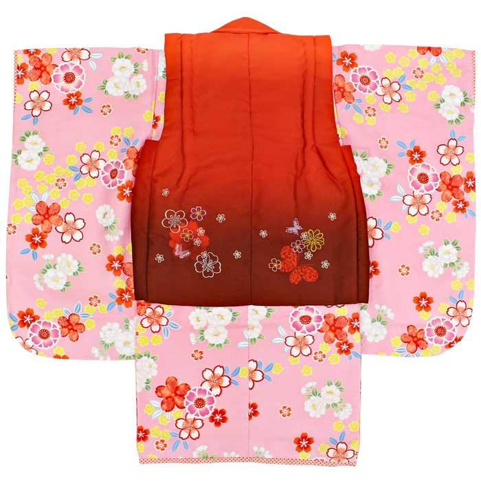 eebb78b78fe87 重衿は予め縫い付け済みなので安心して下さい。 納得の品質、デザイン、セット内容となっておりますので、大変人気の3歳被布セットです。