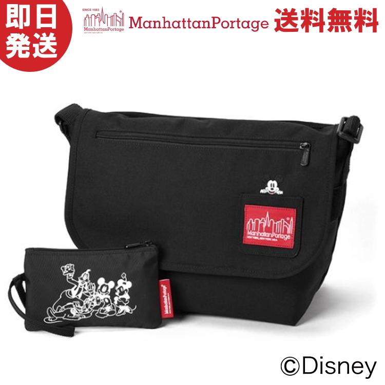Manhattan Portage マンハッタンポーテージ Mickey Mouse Collection Casual Messenger Bag JR ミッキーマウス コレクション カジュアルメッセンジャーバッグ JR MP1606JRMIC19【沖縄配送不可】
