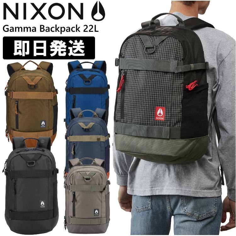NIXON ニクソン リュック Gamma Backpack 22L ガンマ バックパック 22リットル ブラック ネイビー C3024【沖縄配送不可】