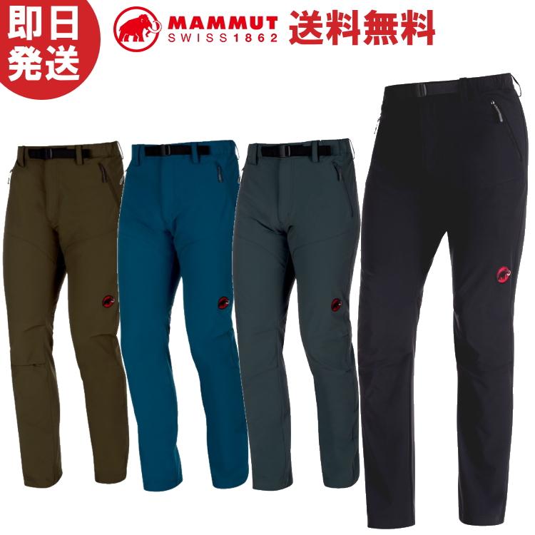 MAMMUT マムート SOFtech TREKKERS Pants Men ソフテック トレッカーズ パンツ メンズ 長ズボン 1020-09760