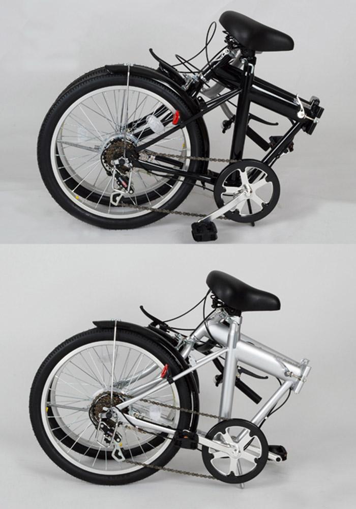 送料無料ミムゴACTIVE911MG-G206NノーパンクタイヤFDB206S20インチ折りたたみ自転車折り畳み6段変速前後泥よけ通勤通学にじてんしゃの安心通販自転車の九蔵