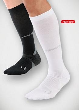 足首、土踏まず、ふくらはぎに抜群のサポート力を発揮します!取寄せ商品(メーカー在庫)です。 ZAMST/ザムスト 機能ソックスHA-1コンプレッション