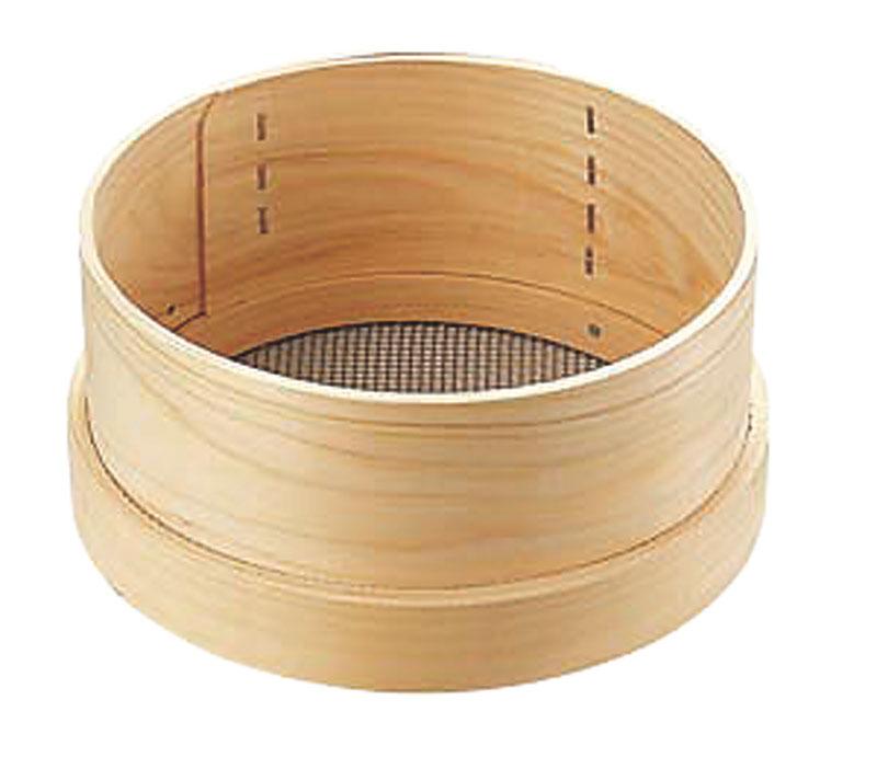 カンダ 木枠ST張パン粉フルイ 尺 048099