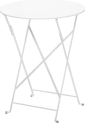 ニチエス フェルモブ ビストロテーブル 60/01ホワイト