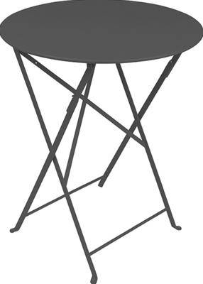 ニチエス フェルモブ ビストロテーブル 60/47アンスラサイト
