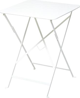 ニチエス フェルモブ ビストロテーブル 57×57/01ホワイト