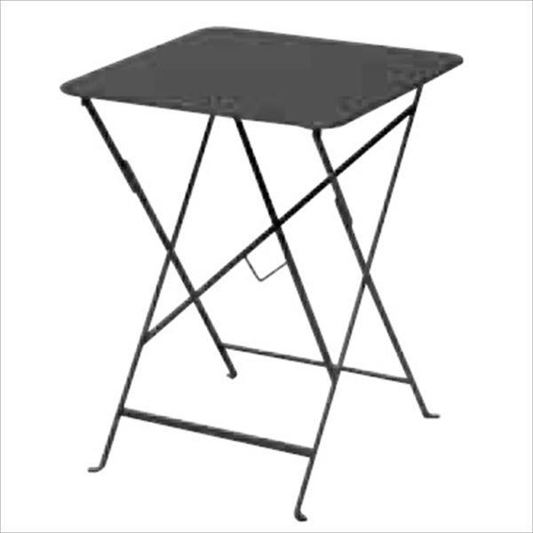ニチエス フェルモブ ビストロテーブル 57×57/47アンスラサイト