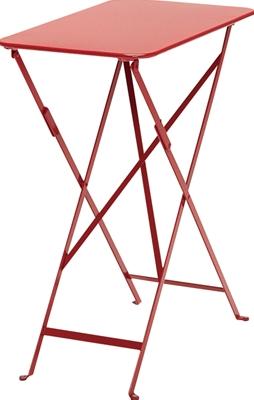 ニチエス フェルモブ ビストロテーブル 37×57/67レッド