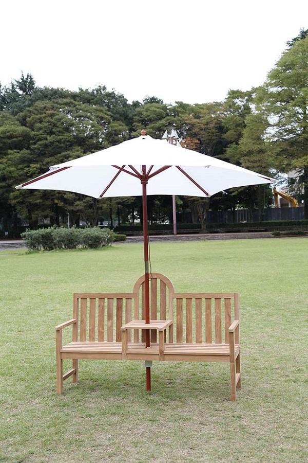 最新デザインの ジャービス アンブレラベンチ 36320:ライフ&ビューティ-エクステリア・ガーデンファニチャー