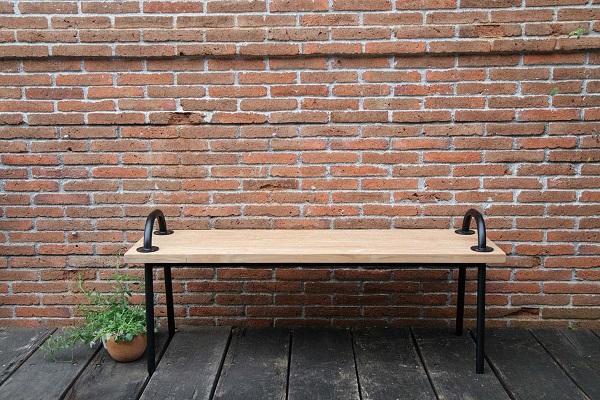 ファッションの グリップベンチ ジャービス 34259:ライフ&ビューティ-エクステリア・ガーデンファニチャー