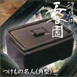 伊賀焼長谷園 つけもの名人(角型)NC-25