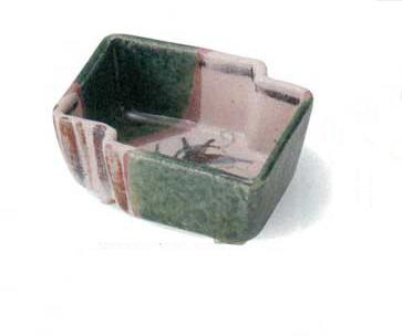 美濃焼 織部唐草変形 小鉢 5個セット