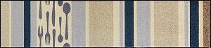 B017F wash+dry(ウォッシュアンドドライ)マット Cubierto(クビエルト) 60×260cm