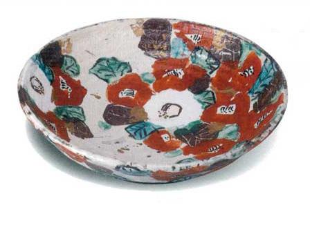 美濃焼 椿 盛込鉢