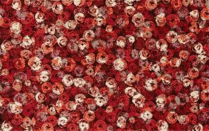 K013I wash+dry(ウォッシュアンドドライ)マット Punilla red(プニリャレッド) 110×175cm