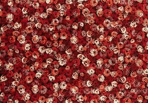 K013K wash+dry(ウォッシュアンドドライ)マット Punilla red(プニリャレッド) 140×200cm