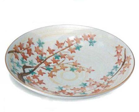 美濃焼 金彩紅葉 盛込鉢
