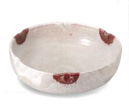 美濃焼 かいらぎ辰砂流 盛込鉢