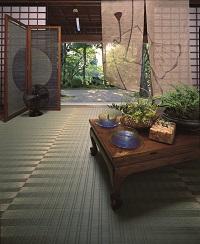 掛川織い草カーペット 涼夏(りょうか) 本間4.5畳 286×286cm