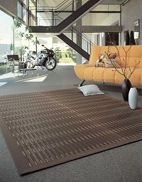 掛川織い草ラグ 匠(たくみ) 190×190cm