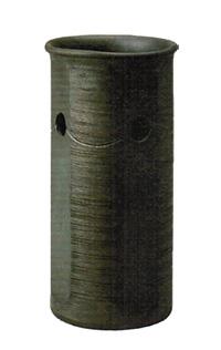 8072-04 丸彫櫛目傘立