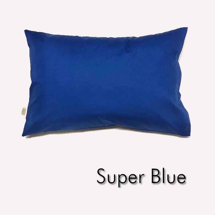 送料無料 ロイヤルブルー 天然素材コットン100% 全18色 Sサイズ 商品 枕カバー 青 ピロケース ポイント消化 無地 35cm×50cm 送料込 スーパーブルー