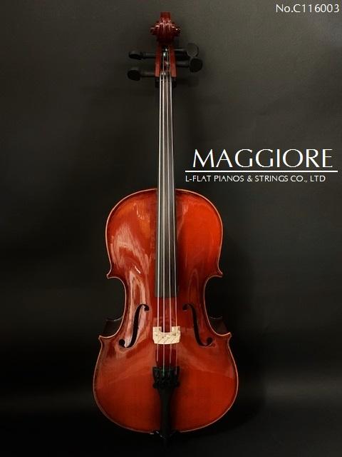 【新品】チェロ1/16サイズ Maggiore 【NEW】