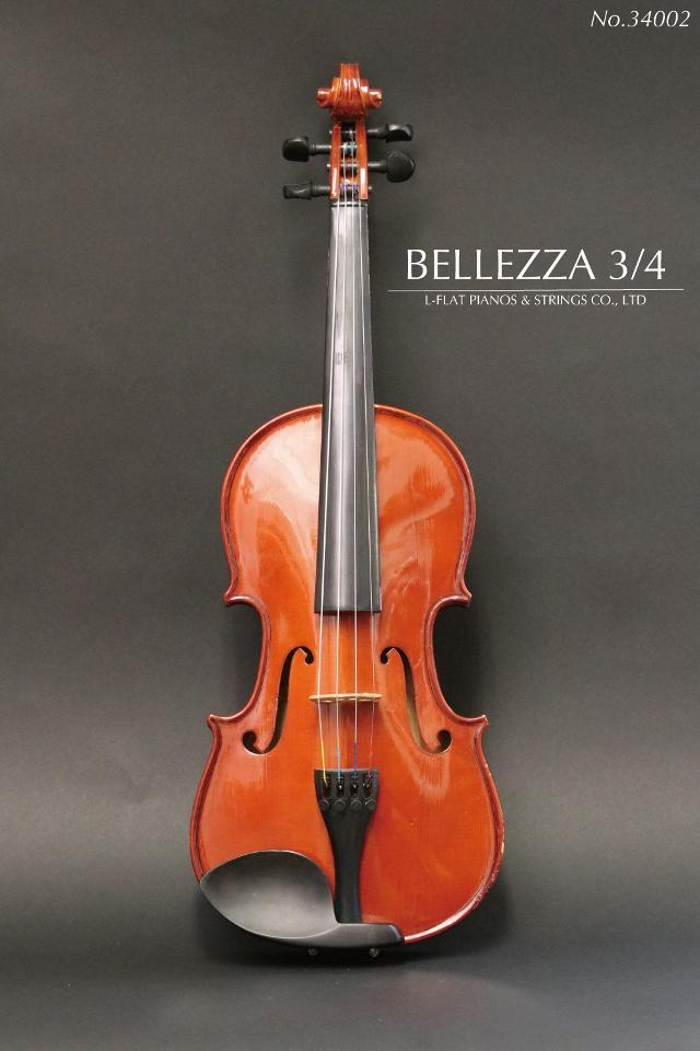 【中古 Bellezza】3/4バイオリン Bellezza 34002, 門川町:417dacc9 --- officewill.xsrv.jp