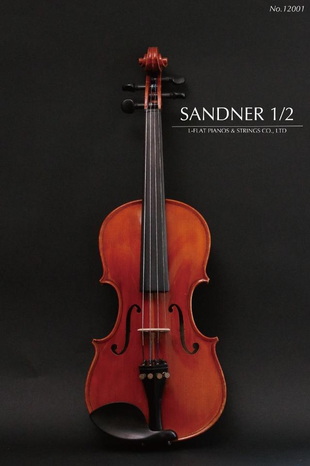 【中古】1/2バイオリン SANDNER サンドナー 12001