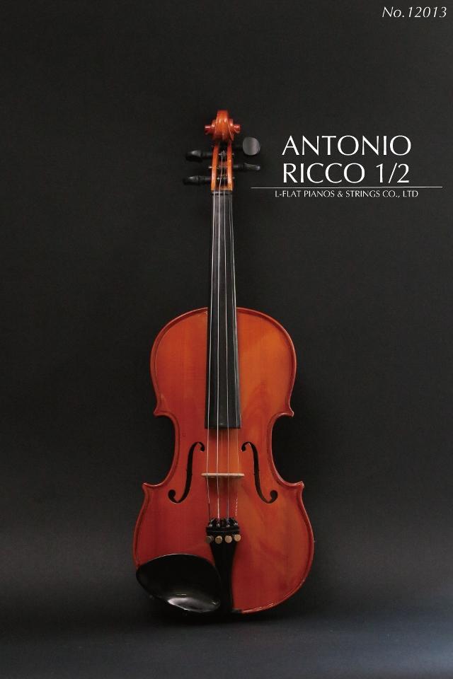 【中古 Antonio】1/2バイオリン Antonio Ricco アントニオ 12013・リッコ Ricco 12013, グレースシトラス:38d1faec --- officewill.xsrv.jp