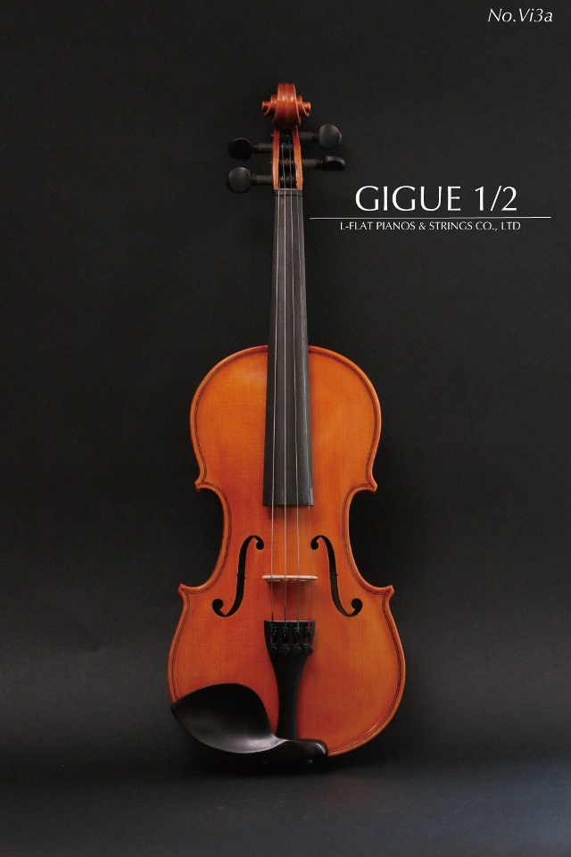 【新品】1/2バイオリン Gigue vi-3a【アウトレット】
