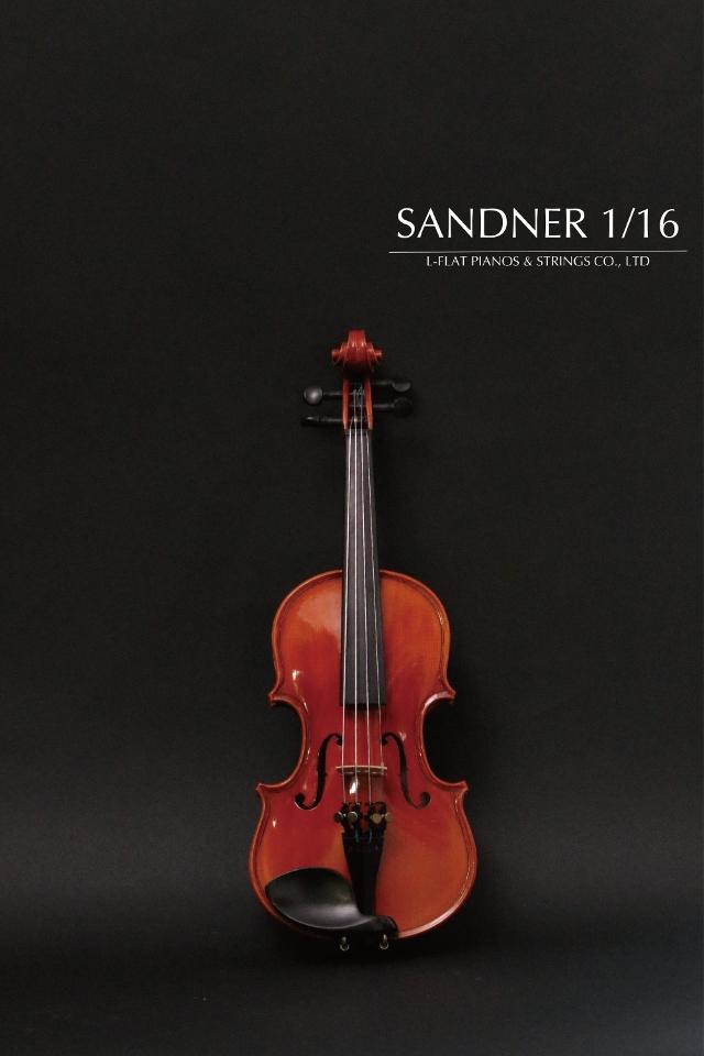 【新品】1/16バイオリン SANDNER サンドナー