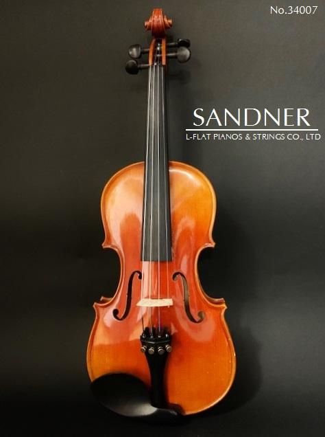 バイオリン3/4サイズ SANDNER【USED】34007
