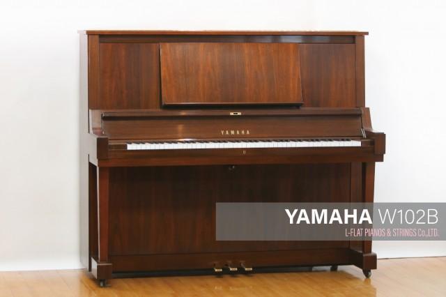 【高価値】 YAMAHA W102B YAMAHA【中古ピアノ】, オノマチ:8197ff13 --- canoncity.azurewebsites.net