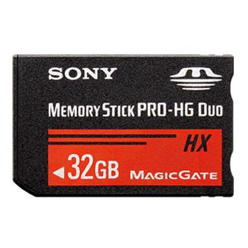 ソニー【MS-HXBシリーズ】32GBメモリースティック PRO-HG デュオ MS-HX32B★【MSHX32B】
