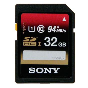 ソニー【SONY】32GB SDHC UHS-I メモリーカード Class10 SF-32UX★【SF32UX】