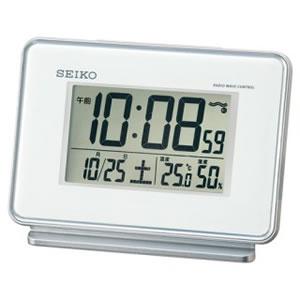 在庫商品は15:00までのご注文で当日出荷可能 セイコー SEIKO 電波デジタル時計 温湿度計付き 直営店 新入荷 流行 SQ767W