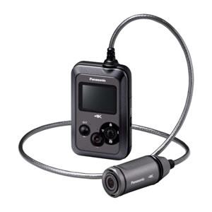 パナソニック【Panasonic】4Kウェアラブルカメラ HX-A500-H(グレー)★【HXA500】