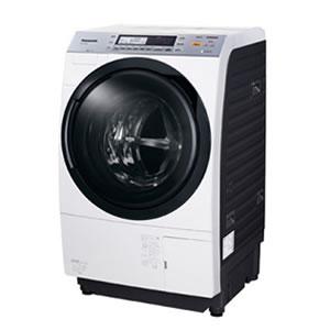 パナソニック【代引・同梱不可】ななめドラム洗濯乾燥機 NA-VX7500L-W(クリスタルホワイト)★【NAVX7500L】