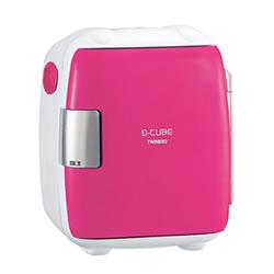 ツインバード【TWINBIRD】2電源式コンパクト電子保冷保温ボックス ピンク HR-DB06P★【D-CUBE S】