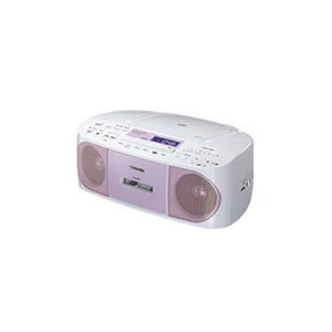 東芝【THOSHIBA】CDラジオカセットレコーダー TY-CDS7-P(ピンク)★【TYCDS7】