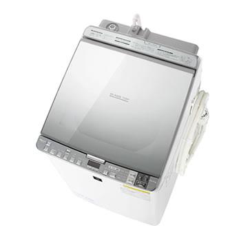 シャープ【SHARP】10kg タテ型洗濯乾燥機 ES-PX10A-S(シルバー系)★【ES-PX10A】