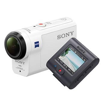 ソニー【4K】ビデオカメラレコーダー アクションカム ライブビューリモコンキット FDR-X3000R★【ブレ補正】